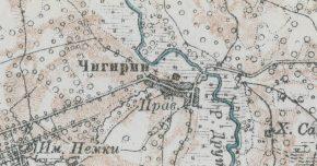 Военно-топографические карты (старые карты)