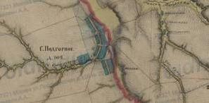 1-верстка Пензенской губернии Менде 1850-х гг.