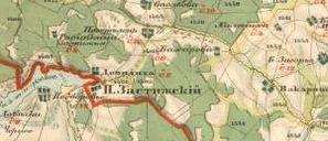 2-верстка Тверской губернии Менде 1850-х гг.
