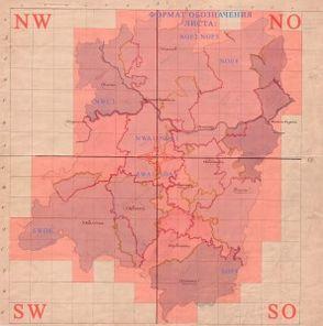 Карты А.И МендеНижегородской губернии