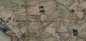 1-верстка Владимирской губернии Менде 1850-х гг.